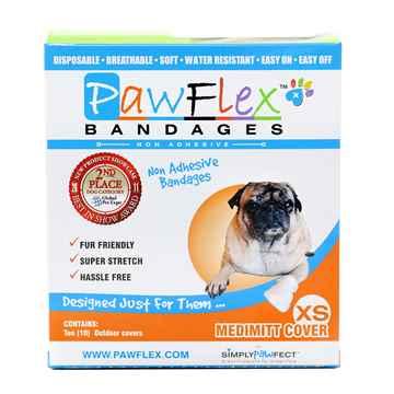 Picture of PAWFLEX MEDIMITT BANDAGE COVER X Small (J1265C) - 20/box