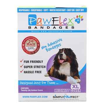 Picture of PAWFLEX MEDIMITT BANDAGE COVER X Large (J1265G) - 20/box