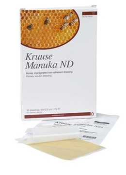 Picture of MANUKA HONEY ND DRESSING Kruuse 4in x 5in - 10/pk