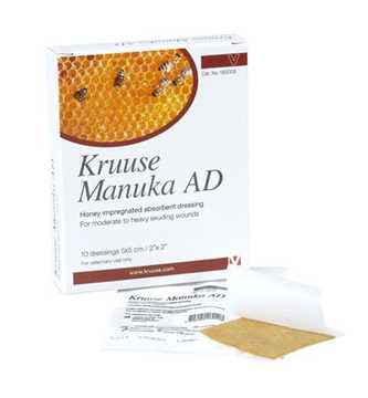 Picture of MANUKA HONEY AD DRESSING Kruuse 2in x 2in - 10/pk