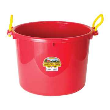 Picture of BUCKET MUCK 70 QUART(17.5 gallons) RED - ea (so)