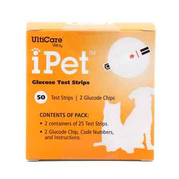 Picture of IPET GLUCOSE TEST STRIPS - 50`s
