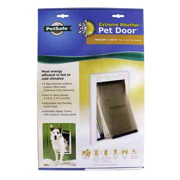 Picture of PETSAFE Extreme Weather PET DOOR - Medium