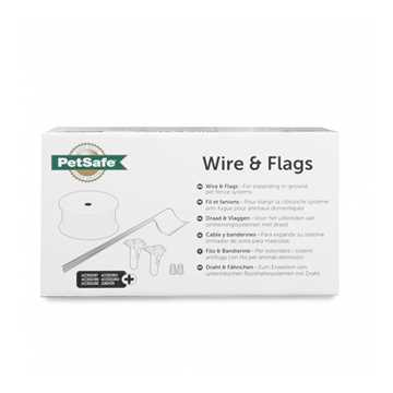 Picture of PETSAFE WIRE 500ft and 50 BOUNDARY FLAGS - Kit