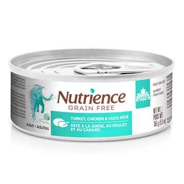 Picture of FELINE NUTRIENCE GF Turkey,Chicken and Duck Pate - 24 x 156g cans