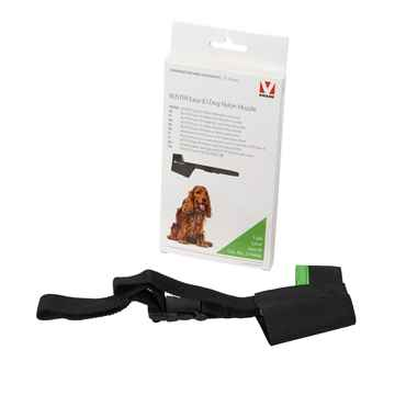 Picture of BUSTER MUZZLE NYLON CANINE Easy ID (279468) Black /Lime  - Medium