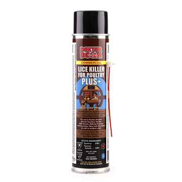 Picture of DOKTOR DOOM LICE KILLER for POULTRY PLUS+ SPRAY - 550g