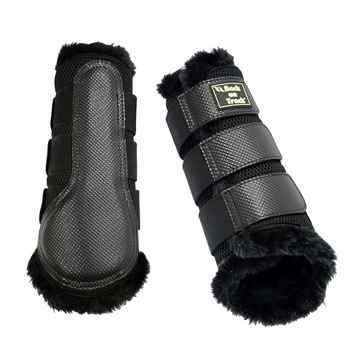Picture of BACK ON TRACK BRUSH BOOT 3D MESH FUR XLARGE