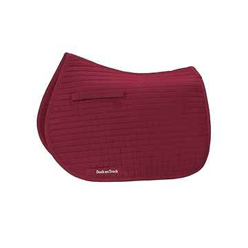 Picture of BACK ON TRACK DRESSAGE SADDLE PAD RED