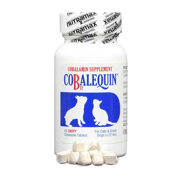 Picture of COBALEQUIN CHEW TABS for CATS & SMALL DOGS - 45s
