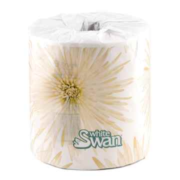 Picture of TOILET TISSUE WHITE SWAN 1 PLY (05113) - 48/case