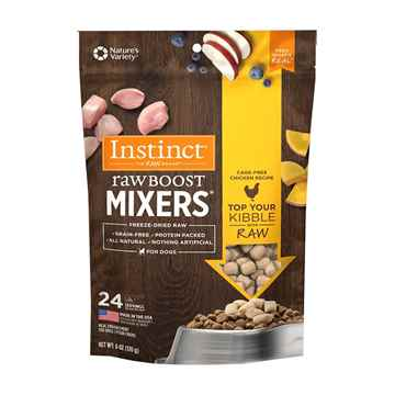 Picture of CANINE NATURES VARIETY Instinct Raw Boost Mixer Chicken Formula- 170g