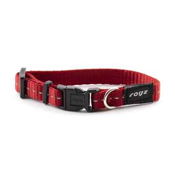 Picture of COLLAR ROGZ UTILITY FIREFLY Red - 3/8in x 6-8.5in