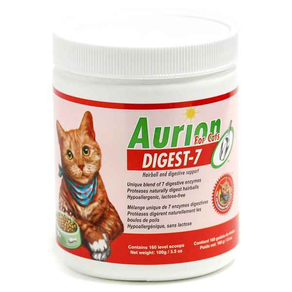 Picture of AURION DIGEST-7 SUPPLEMENT for CATS - 100gm