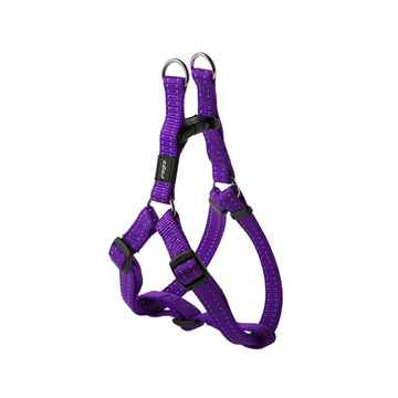 Picture of HARNESS ROGZ UTILITY STEP IN HARNESS Fanbelt Purple - Large(tu)