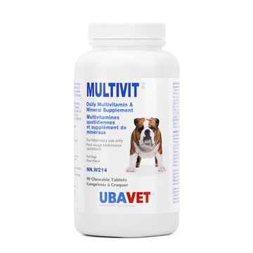 Picture of UBAVET MULTIVIT VITAMIN CHEW TABS FOR DOGS - 90's