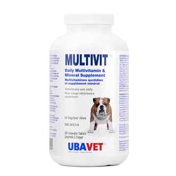 Picture of UBAVET MULTIVIT VITAMIN CHEW TABS FOR DOGS - 180's