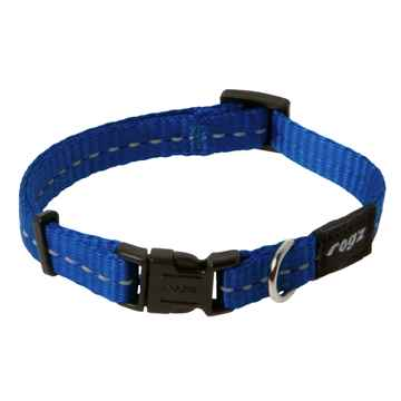 Picture of COLLAR ROGZ UTILITY FIREFLY Blue - 3/8in x 6-8.5in(tu)