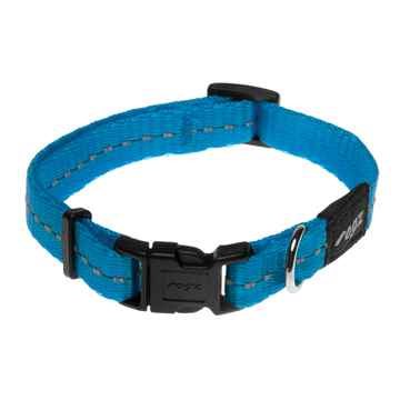 Picture of COLLAR ROGZ UTILITY FIREFLY Turquoise - 3/8in x 6-8.5in
