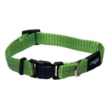 Picture of COLLAR ROGZ UTILITY FIREFLY Lime - 3/8in x 6-8.5in(tu)