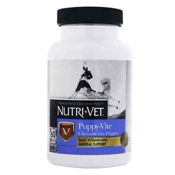 Picture of NUTRI-VET PUPPY - VITE Chewables Tablets - 60's