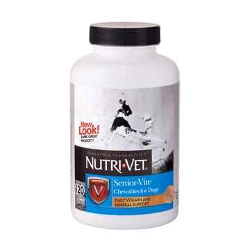 Picture of NUTRI-VET SENIOR -VITE Chewables - 120's
