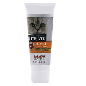 Picture of NUTRI-VET HAIRBALL PAW GEL Salmon Flavor - 3oz