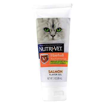Picture of NUTRI-VET HAIRBALL PAW GEL Salmon Flavor - 3oz