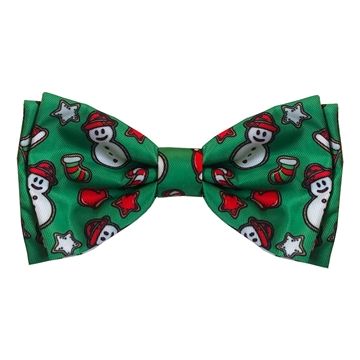 Picture of XMAS CANINE BOW TIE Christmas Cookie - Large
