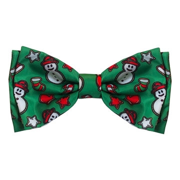 Picture of XMAS CANINE BOW TIE Christmas Cookie - X Large