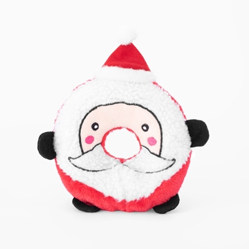 Picture of XMAS HOLIDAY ZIPPY PAWS Holiday Donutz Buddies - Santa(nr)