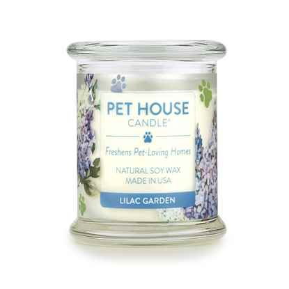 Picture of CANDLE PET HOUSE  One Fur All Lilac Garden  - 8.5oz