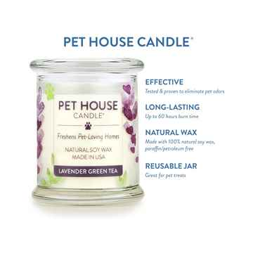 Picture of CANDLE PET HOUSE  One Fur All Lavender Green Tea  - 8.5oz