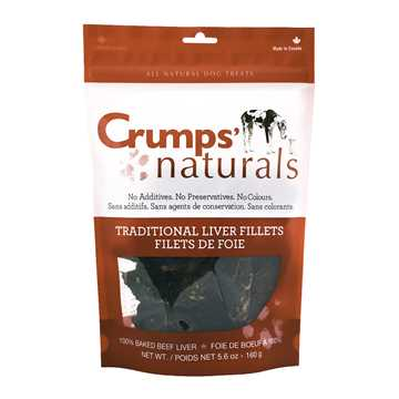Picture of CRUMPS NATURALS TRADITIONAL LIVER FILLET TREATS - 160g