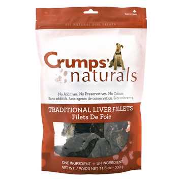 Picture of CRUMPS NATURALS TRADITIONAL LIVER FILLET TREATS - 330g