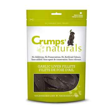 Picture of CRUMPS NATURALS GARLIC LIVER FILLET TREATS - 330g