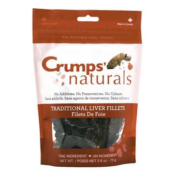 Picture of CRUMPS NATURALS TRADITIONAL LIVER FILLET TREATS - 75g