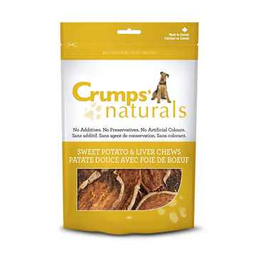 Picture of CRUMPS NATURALS SWEET POTATO&LIVER RAWHIDE- 160gm