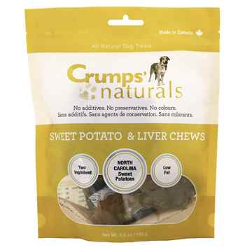 Picture of CRUMPS NATURALS SWEET POTATO&LIVER CHEWS - 160g