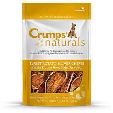 Picture of CRUMPS NATURALS SWEET POTATO & LIVER CHEWS - 680g