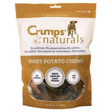 Picture of CRUMPS NATURALS SWEET POTATO CHEWS - 680g