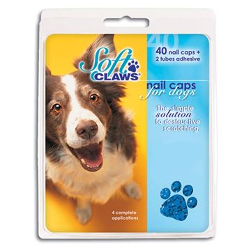 Picture of SOFT CLAWS TAKE HOME KIT CANINE LARGE - Blue