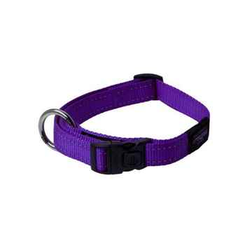 Picture of COLLAR ROGZ UTILITY LANDING STRIP Purple - 1- 5/8in x 20-32in(tu)