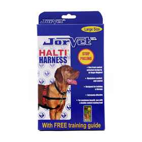 Picture of HALTI TRAINING HARNESS Red/Black(J1012C) - Large