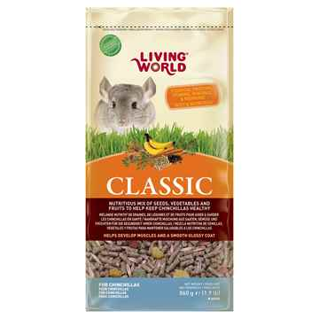 Picture of LIVING WORLD CLASSIC CHINCHILLA FOOD - 860g