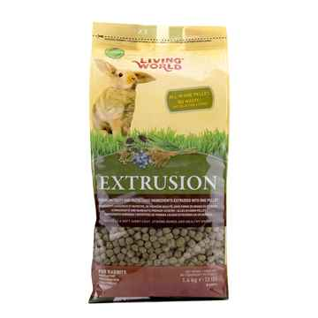 Picture of LIVING WORLD EXTRUSION RABBIT FOOD - 3lb