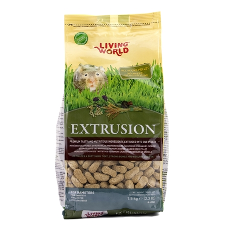 Picture of LIVING WORLD EXTRUSION HAMSTER FOOD - 1.6kg