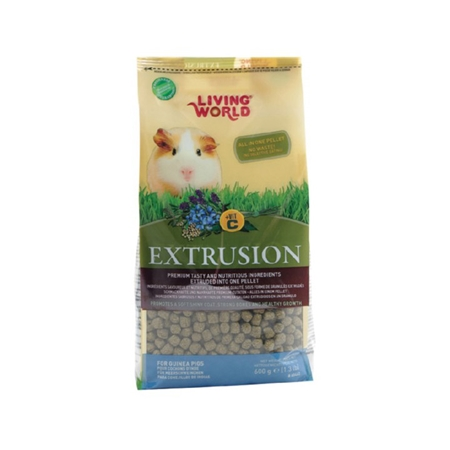 Picture of LIVING WORLD EXTRUDED GUINEA PIG FOOD - 6 x 600g(so)
