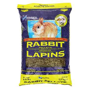 Picture of RABBIT PELLET FOOD Hagen - 5lb