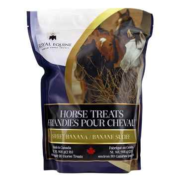 Picture of ROYAL EQUINE HORSE CRUNCH TREAT Sweet Banana - 908g